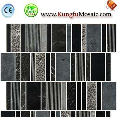 How Many Types Of Black Marble Mosaic Tiles?