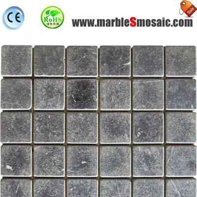 Bricks Blue Limestone Mosaic Tile
