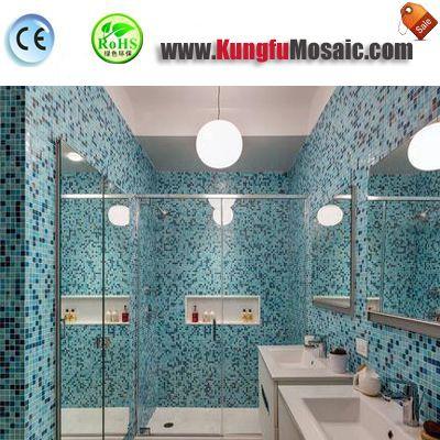 Welche Farbe aus Stein Mosaik Fliesen geeignet für Bad?