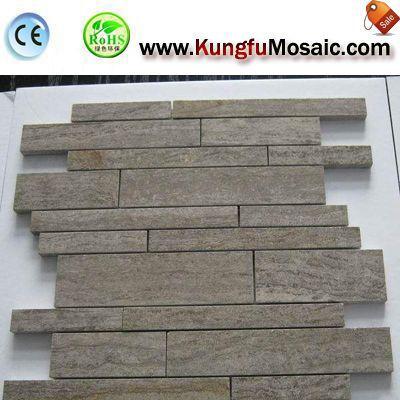 Graue Marmor Mosaike Fliesen In verschiedenen Stilrichtungen zu verkaufen