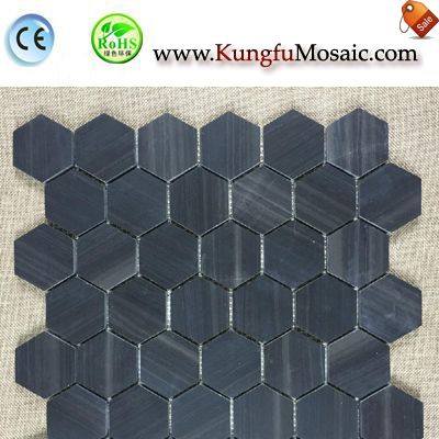 What Material Is Good For Hexagon Stone Mosaic?