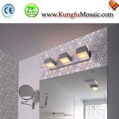 Flower Shape Calacatta Gold Marble Mosaic Tile