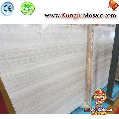 Chinese White Oak Marble Slabs