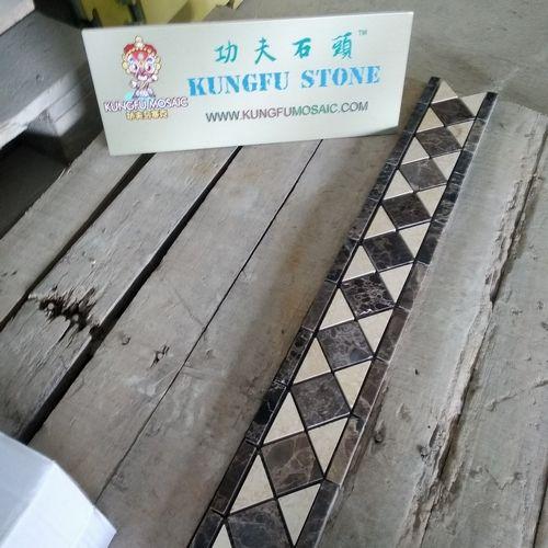 KUNGFU MOSAIC MARBLE BORDER TILE PROJECT