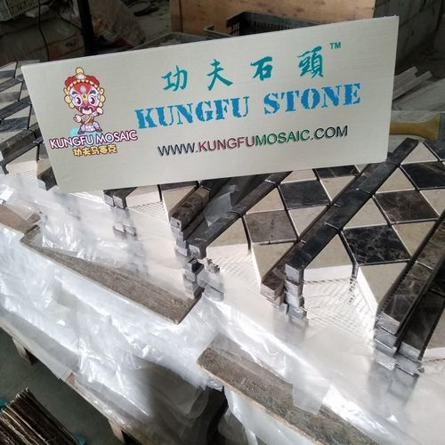 KUNGFU MOSAIC MARBLE BORDER TILE PROJECT