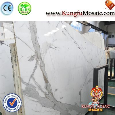 Chinese Arabescato Marble Slabs