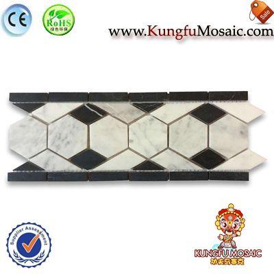 Diamond Marble Border Mosaic Line