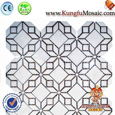 Modern Style Marble Mosaic Tile