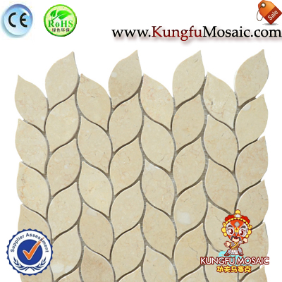 Sea Wave Pattern Galal Marble Mosaic