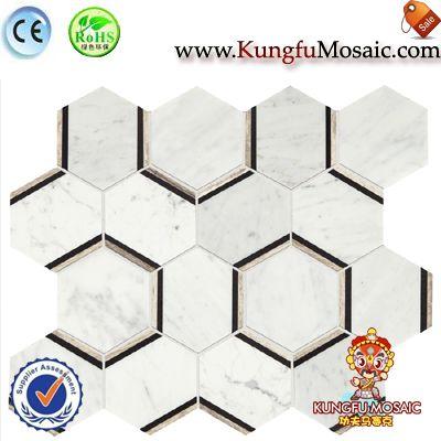 Special Pattern White Brick Stone Mosaic