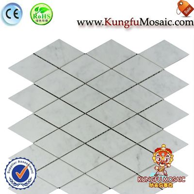 Wall And Floor Marble Mosaic Diamond