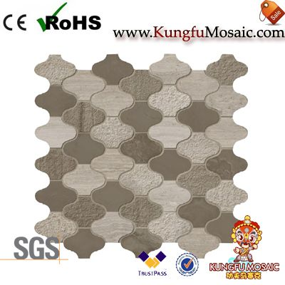 Athens Stone Marble Mosaic Arabesque