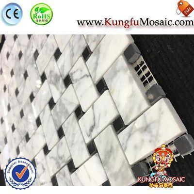 Carrara Stein Mosaik