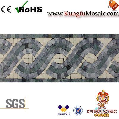 marble border mosaic