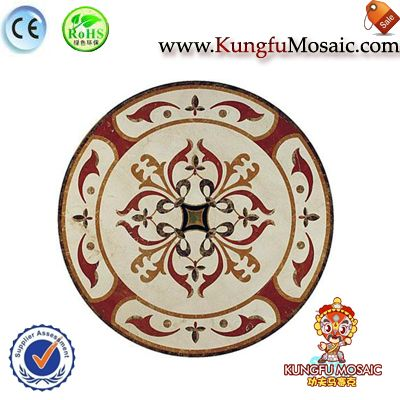 marble medallion mosaic tile