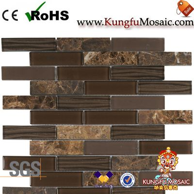 Brown Marble Mosaic Tile