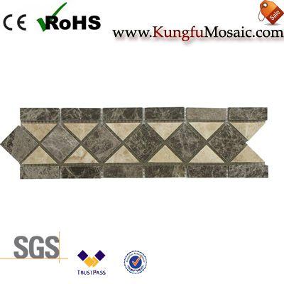 Coffee Marble Border Tiles