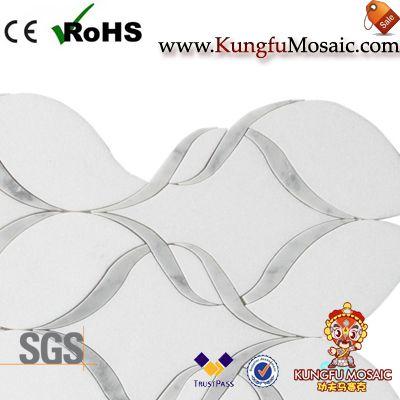 Greece Thassos White Marble Mosaic