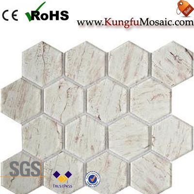 Hexagon Stone Mosaic