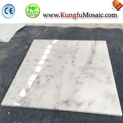 Star White Marble Floor Tiles