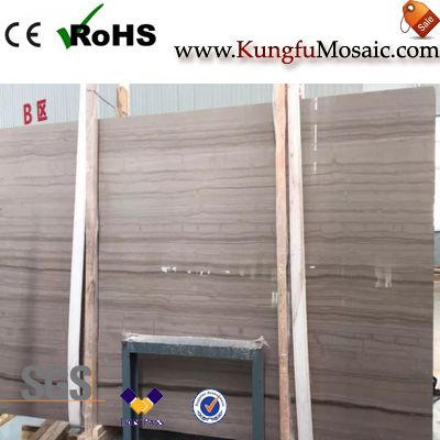 Athens Wood Grey Marble Slabs