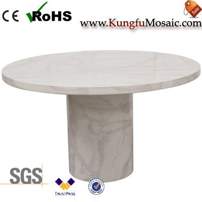 Bianco Carrara Marble Dining Table