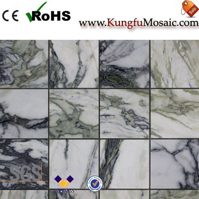 Chinese Ice Jade Marble Mosaic Tiles