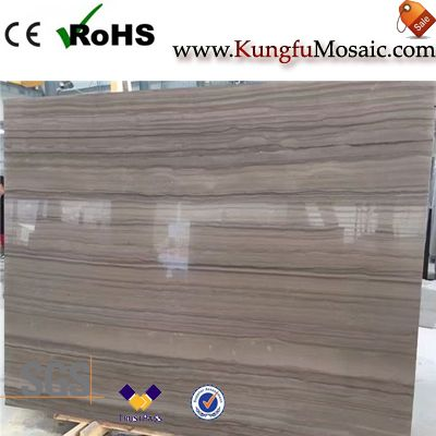 Coffee Wooden Marble Slab