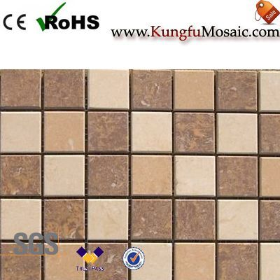 Beige Marble Mosaic Tiles Materials Select