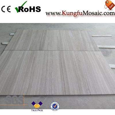 Grey Wood Marble Floor Tile
