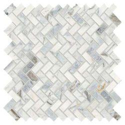 Marble Mosaic Bathroom Floor