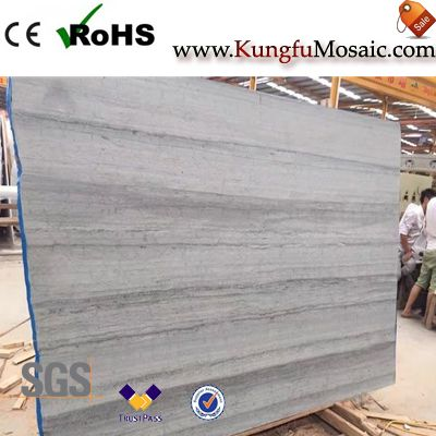 Shuitou Blue Wood Vein Marble Slabs