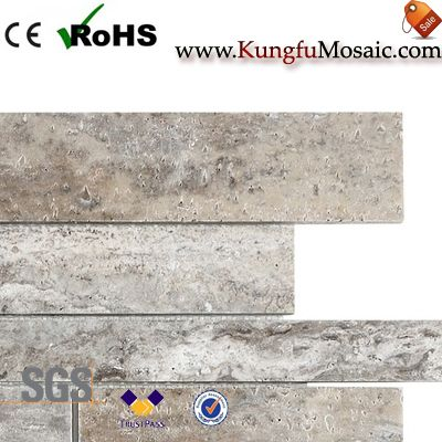Silver Travertine Mosaic Tile