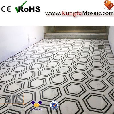 How To Select Materials For Marble Mosaic Tile Bathroom Floor?
