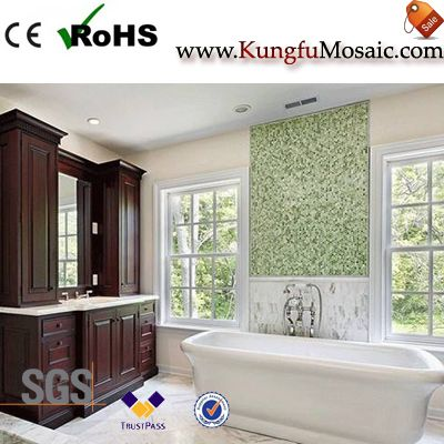 marble mosaic tile bathroom floor4