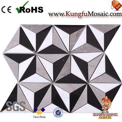 3D Мраморная мозаика Пол Плитки Китай