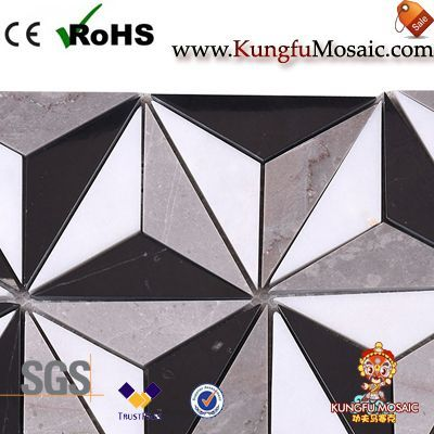 3D Marble Mosaic Floor Tiles China