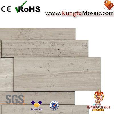 Афины Серый Мраморная мозаика Стены плитки