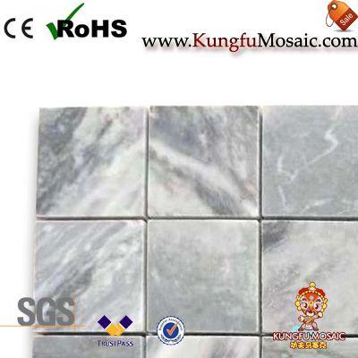China Grey marble mosaic tile square