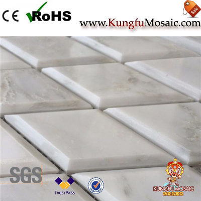 How About Oriental White Marble Mosaic Tile Quality?
