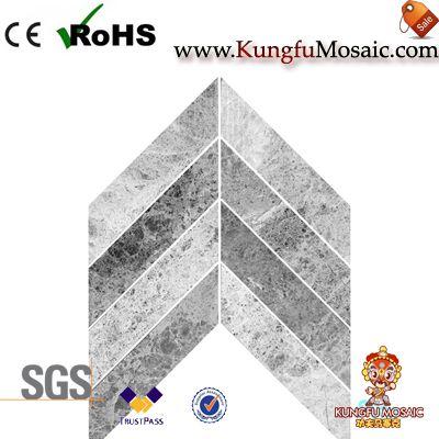 Spike Marmor Mosaik Fliesen Badezimmerboden