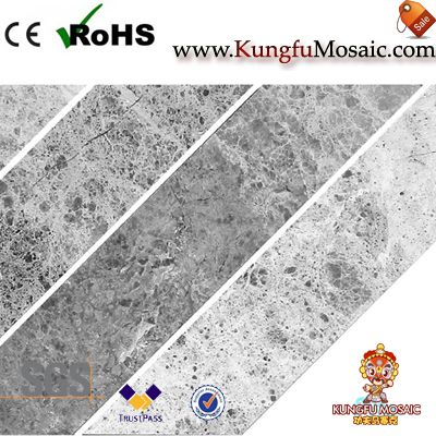 spike marble mosaic tile bathroom floor