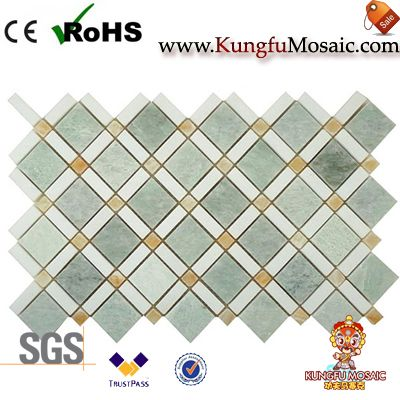 Green Marble Mosaic Tile