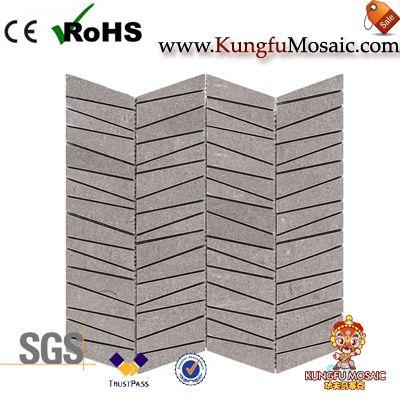 Shay grau Marmor Mosaik Backsplash