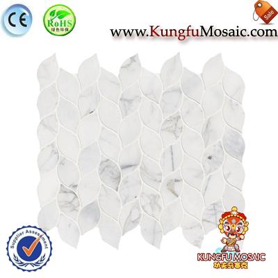 White Calacatta Marble Mosaic