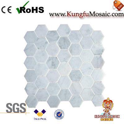 Hexagon Marble Mosaic Tile
