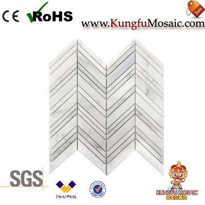 Interlocking Marble Mosaic Tile