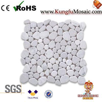 Pebblestone Marble Mosaic Tile