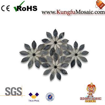 Wildflower Marble Mosaic Tile