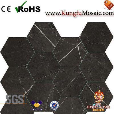 Sol de mosaïque de marbre
